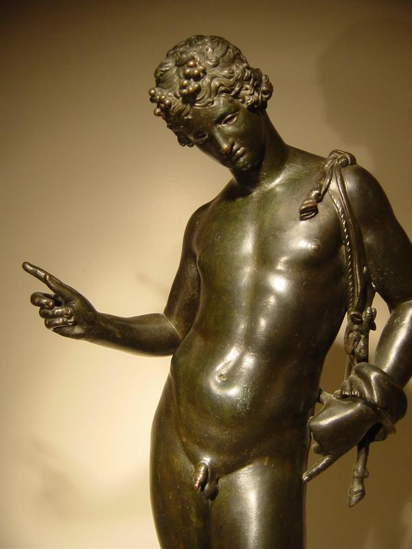 19c Bronze Of Narcissus By Chiurazzi Foundry For Sale