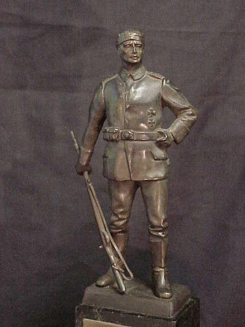 German WW1 Patriotic Statue For Sale | Antiques com | Classifieds