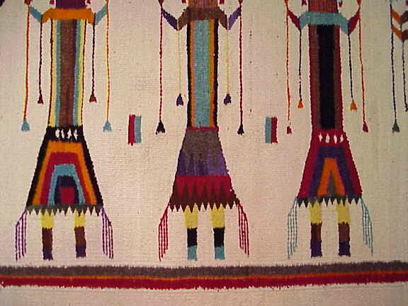 Navajo Yei Rug - Helen Begay - Live Auctions - Collectible