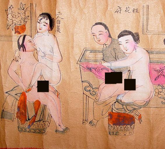 erotica art asian Antique