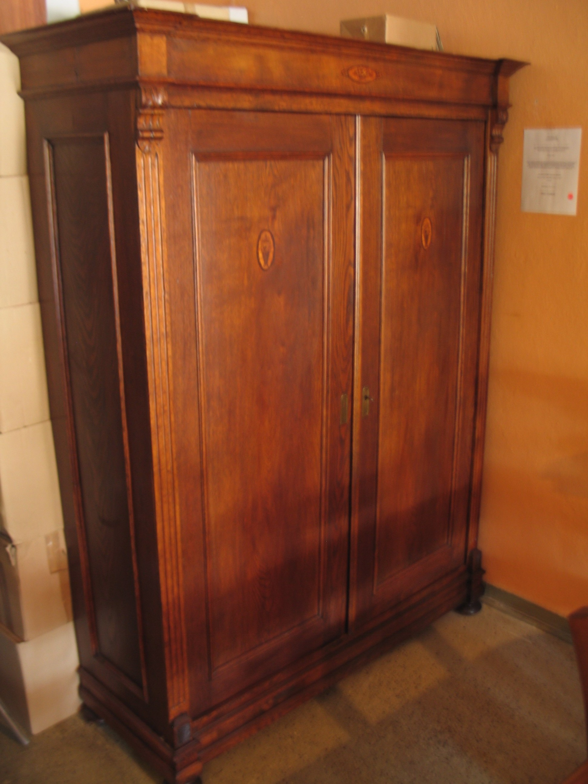 burled walnut napoleon iii french armoire for sale. Black Bedroom Furniture Sets. Home Design Ideas