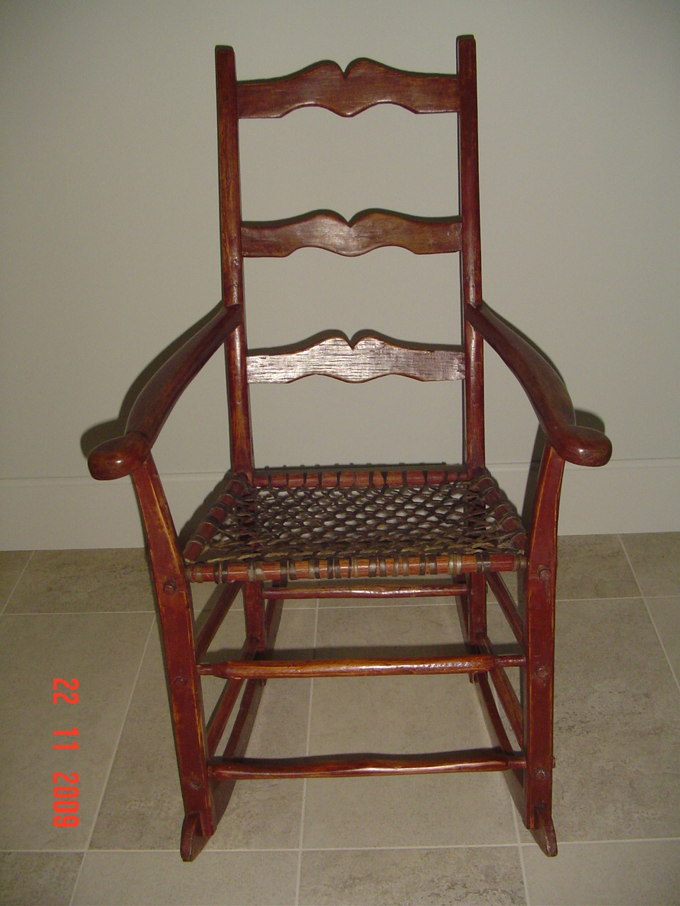 Primitive Rocking Chair Canadian Pine Wood Furniture For Sale Classifieds