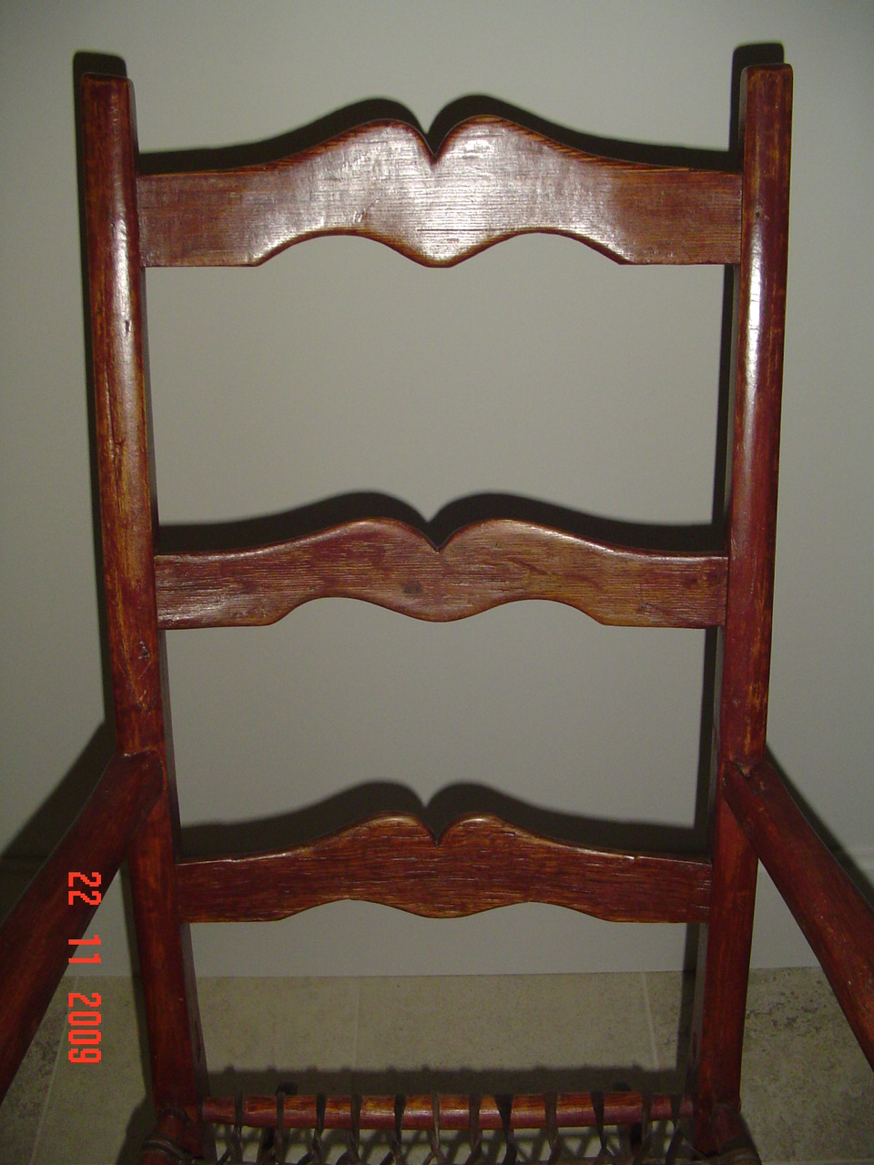 PRIMITIVE ROCKING CHAIR Canadian pine wood furniture