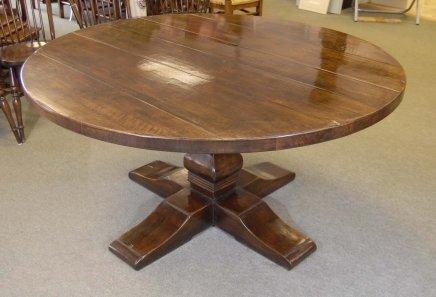 round spanish refectory farmhouse table oak tables diners for sale - Farmhouse Table For Sale