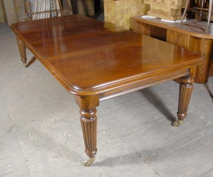 9 FOOT ENGLISH VICTORIAN DINING TABLE TABLES For Sale Classi