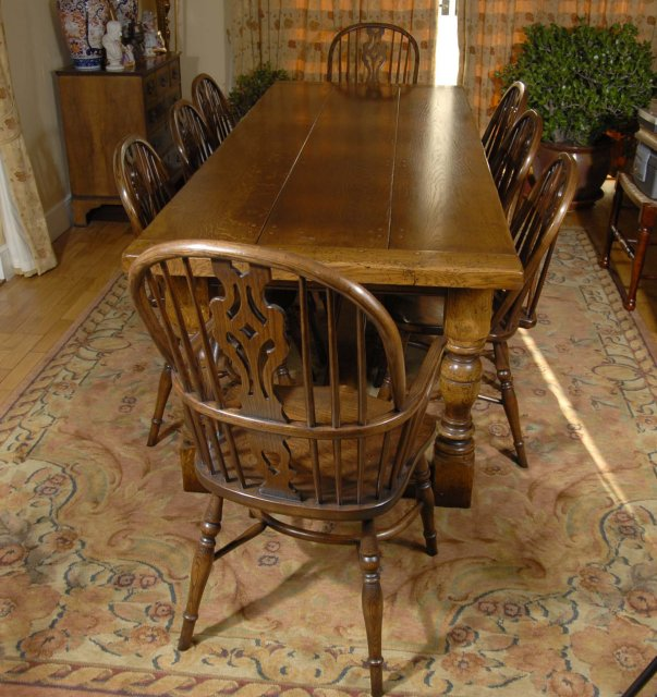 Farmhouse Dining Set For Sale
