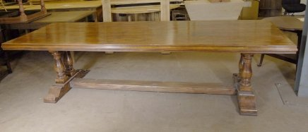 10 ft french farmhouse refectory table rustic tables for Rustic farm tables for sale