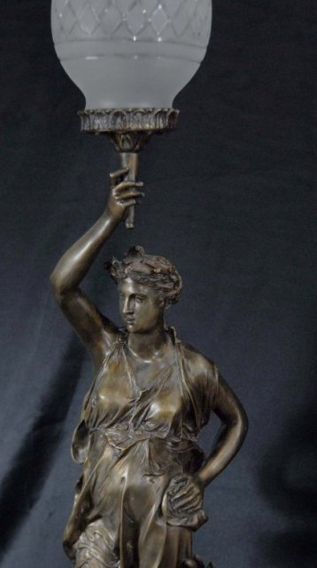 antique statue lamps