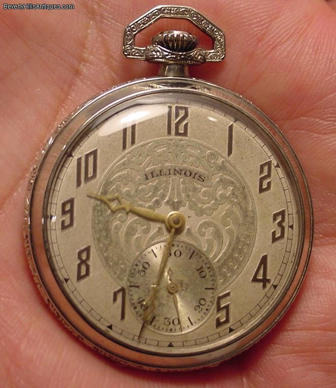 illinois pocket watch dating