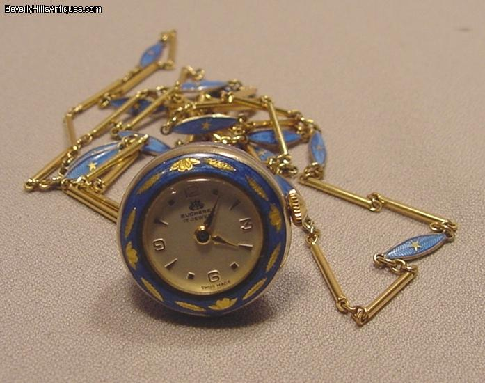 Bucherer enamel silver gilt necklace pendant watch for sale rare and unusual vintage bucherer 17 jewel bell shaped enamel silver gilt ladys pendant watch the watch come with its original matching silver gilt mozeypictures Choice Image