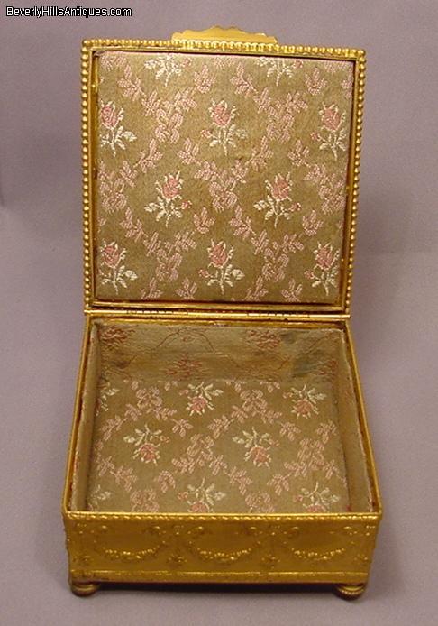Exquisite Antique Art Nouveau Enamel Jewelry Box For Sale Antiques