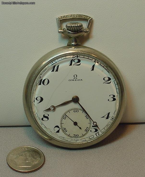 antique omega open pocket for sale antiques
