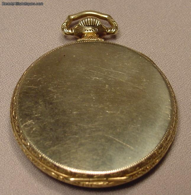 antique deco waltham gf pocket for sale