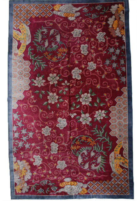 Art Deco Chinese Rug For Sale Antiques Com Classifieds
