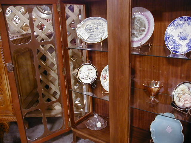 Scully Hand Carved English China Cabinet Scully Hand Carved ...
