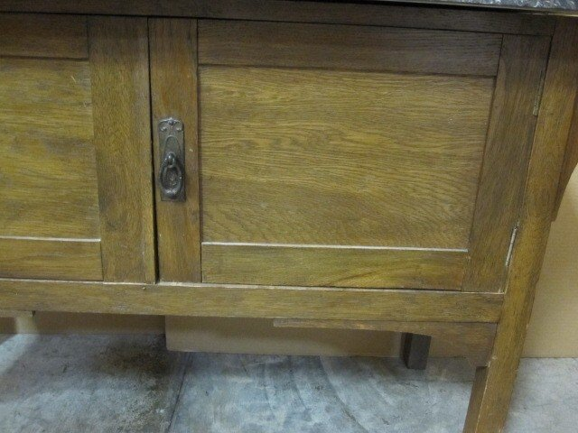 We Have For Sale A Great Looking Piece From Europe. I Do Not Know What  Country It Came From. It Is A Sideboard Server Or Work Cbinet.