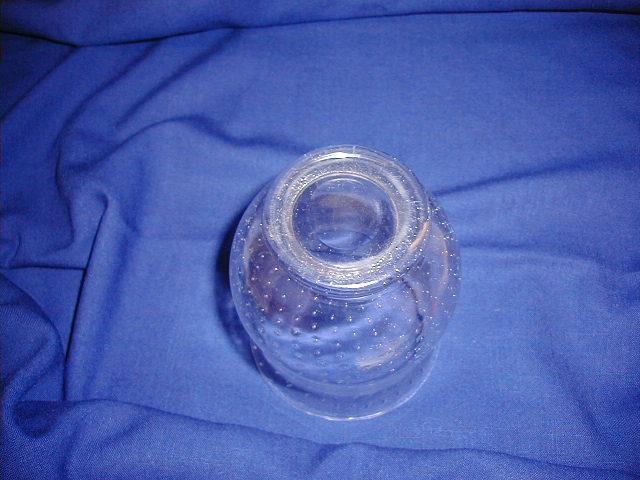 Steuben Clear Glass Vasebowl Wbubbles For Sale Antiques