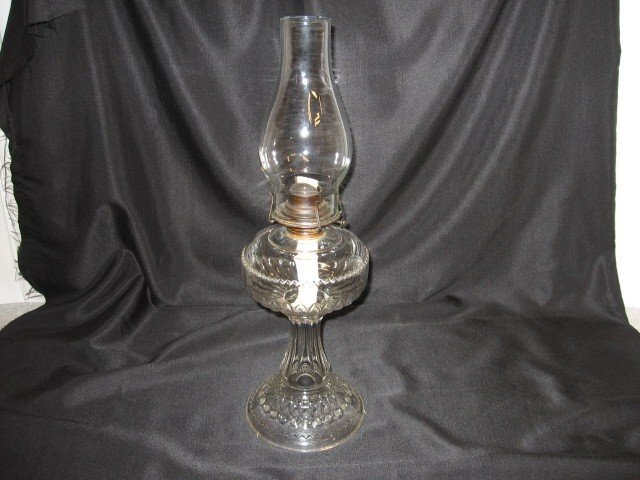 we have for sale an antique oil lamp the oil. Black Bedroom Furniture Sets. Home Design Ideas