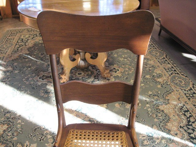 antique kitchen chairs with cane seats 2