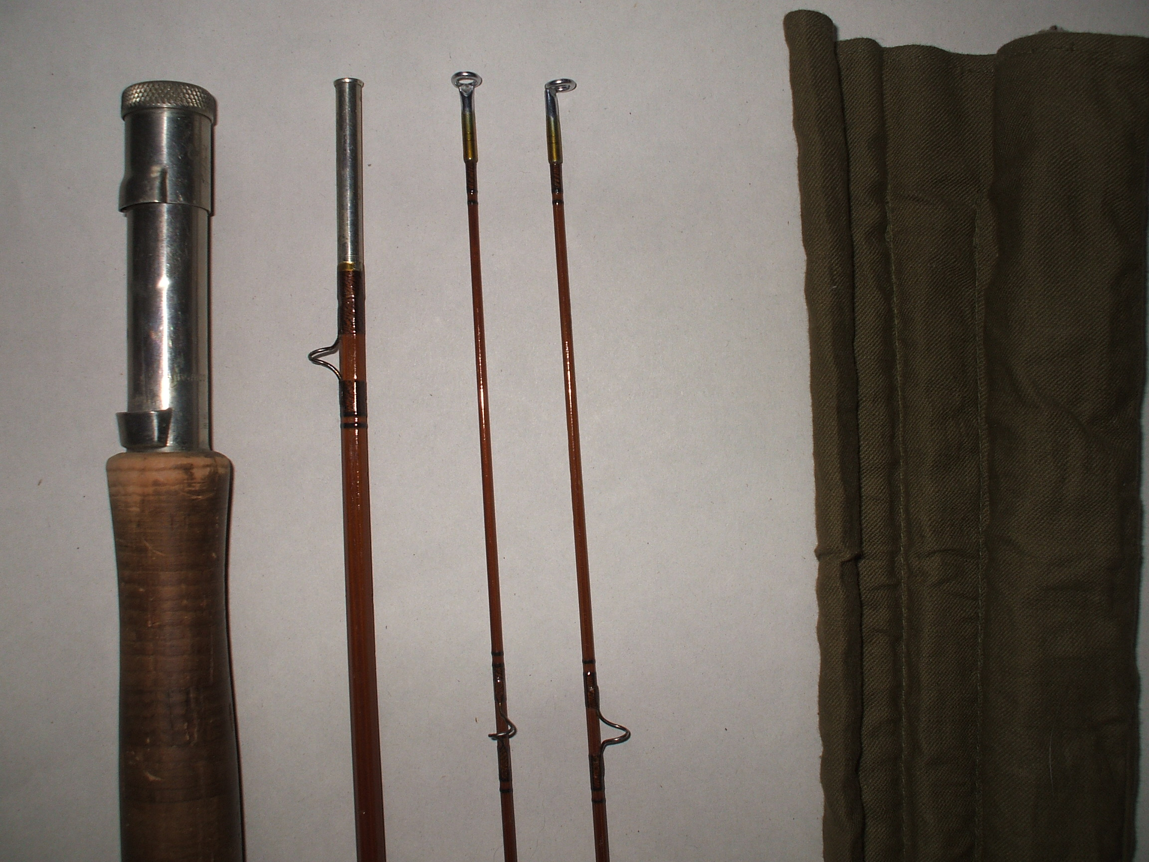 Goodwin granger bamboo fly rod for sale for Bamboo fly fishing rod