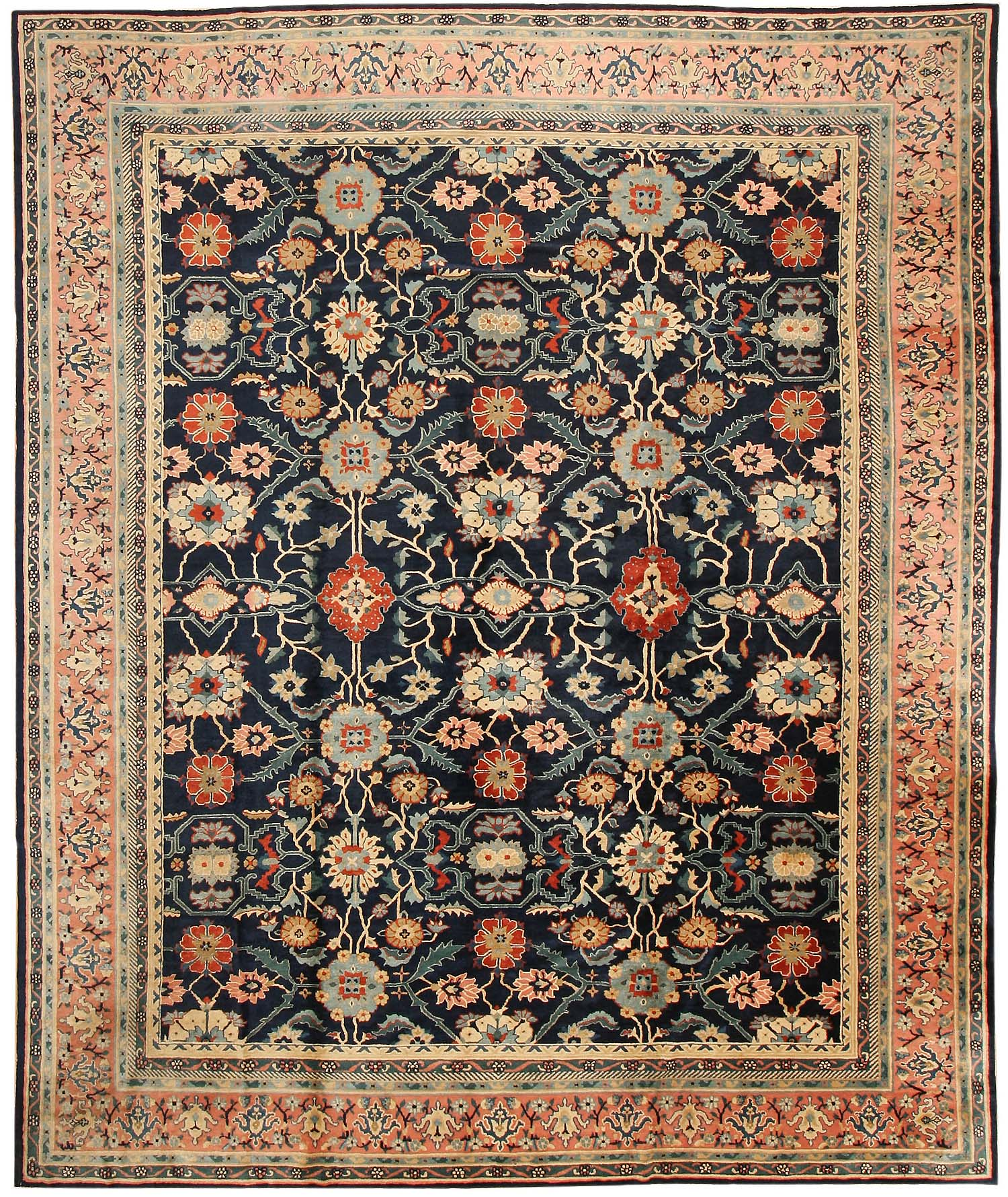 Chinese Carpets And Rugs: Antique Chinese Oriental Rugs # 43423 For Sale