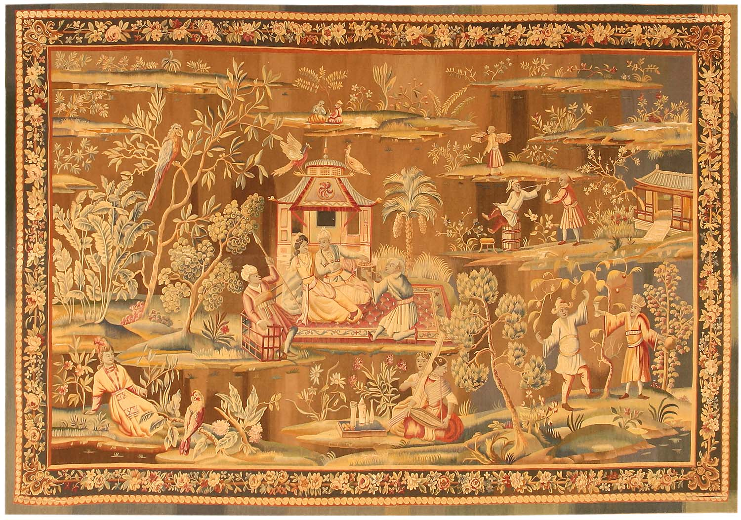 Antique French Tapestry Rug 43924 For Sale Antiques Com