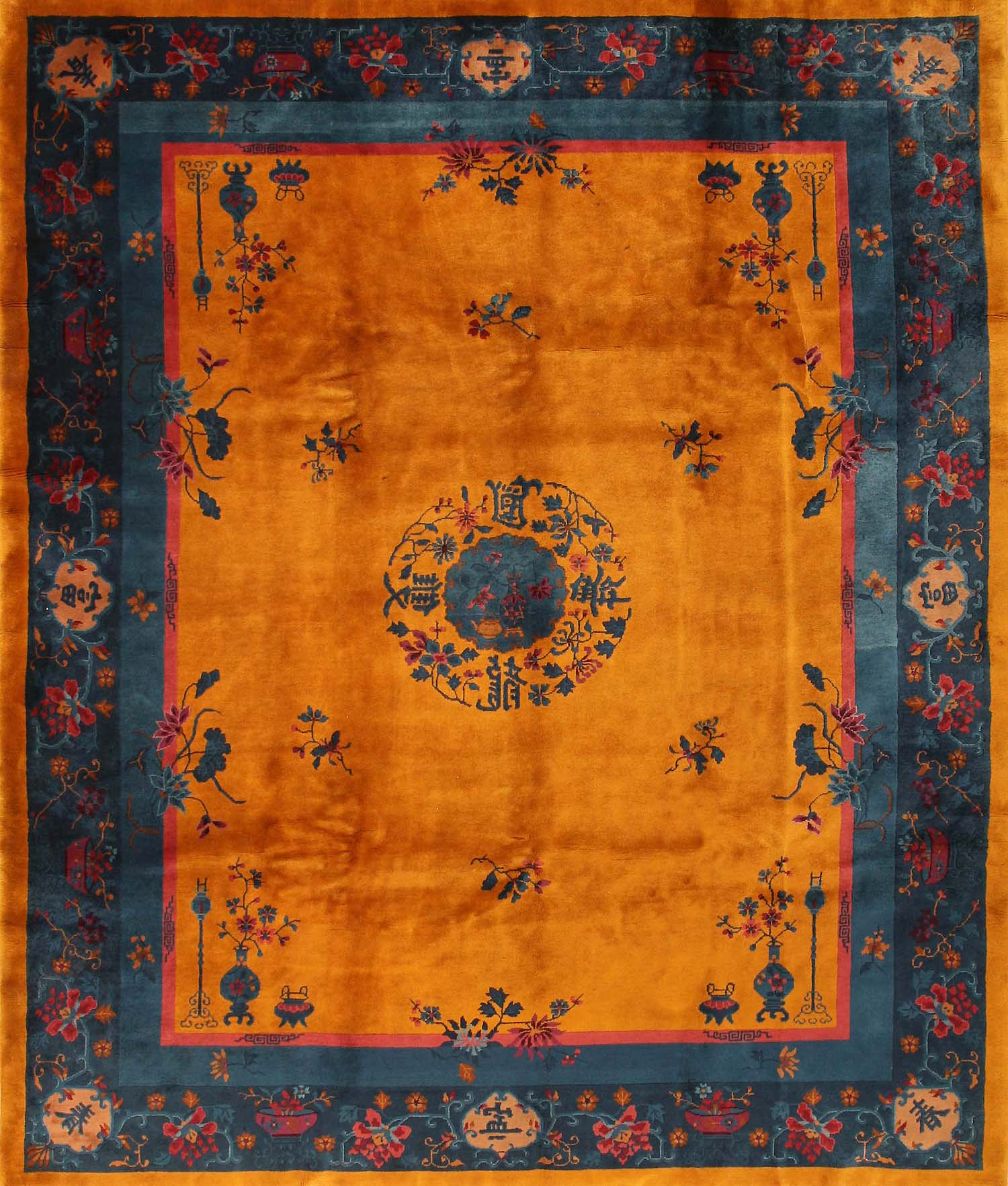 Chinese Rug Dealers: Antique Chinese Oriental Rugs 43747 For Sale