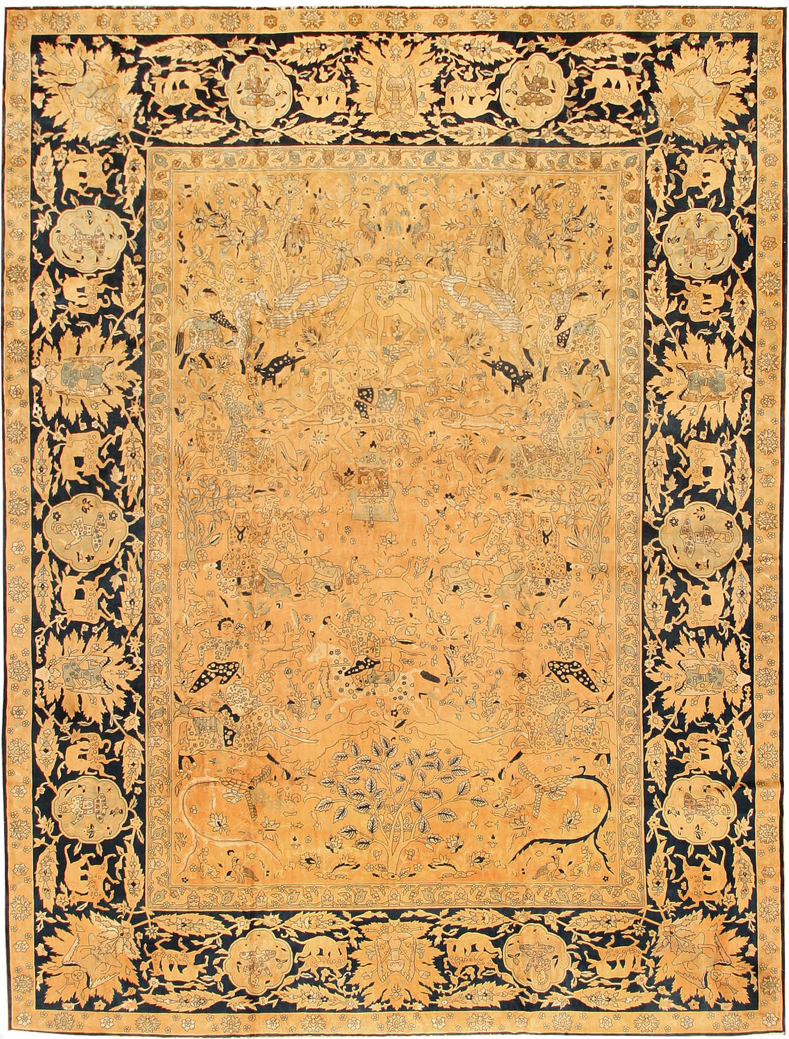 Price of oriental rug genuine home design - Wonderful persian living room designs buying tips for the rug ...