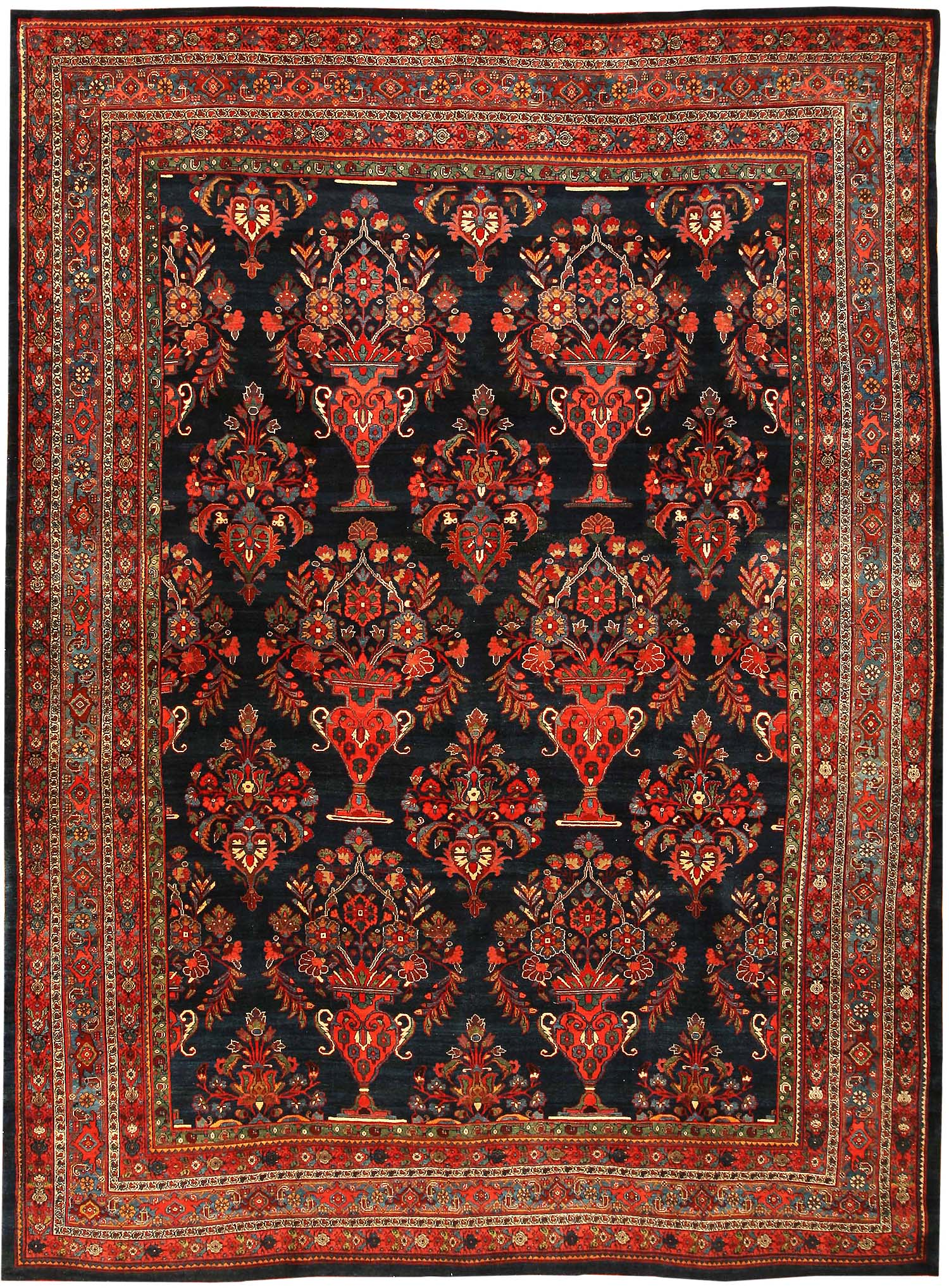 Antique bidjar persian rug 43570 for sale for Cheap persian rugs nyc
