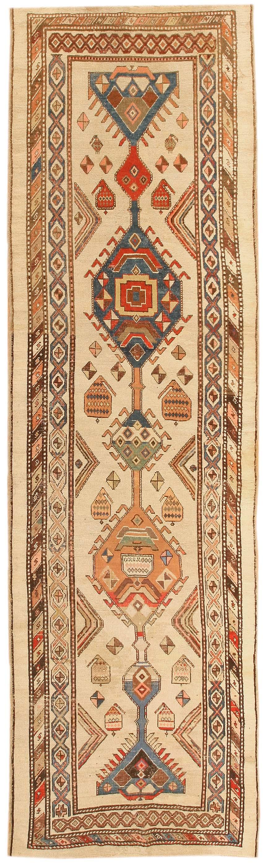Elegant Antique Bakshaish Persian Rugs 43839   For Sale