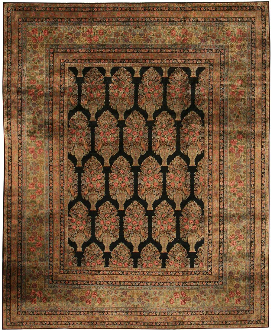Chinese Rug Dealers: Antique Indian Oriental Rug 44069 For Sale