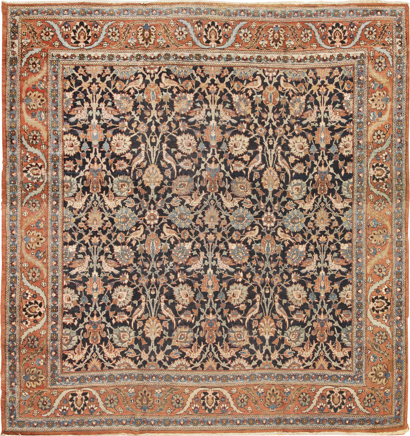 Persian Rugs For Sale: Antique Tabriz Persian Rug 42051 For Sale