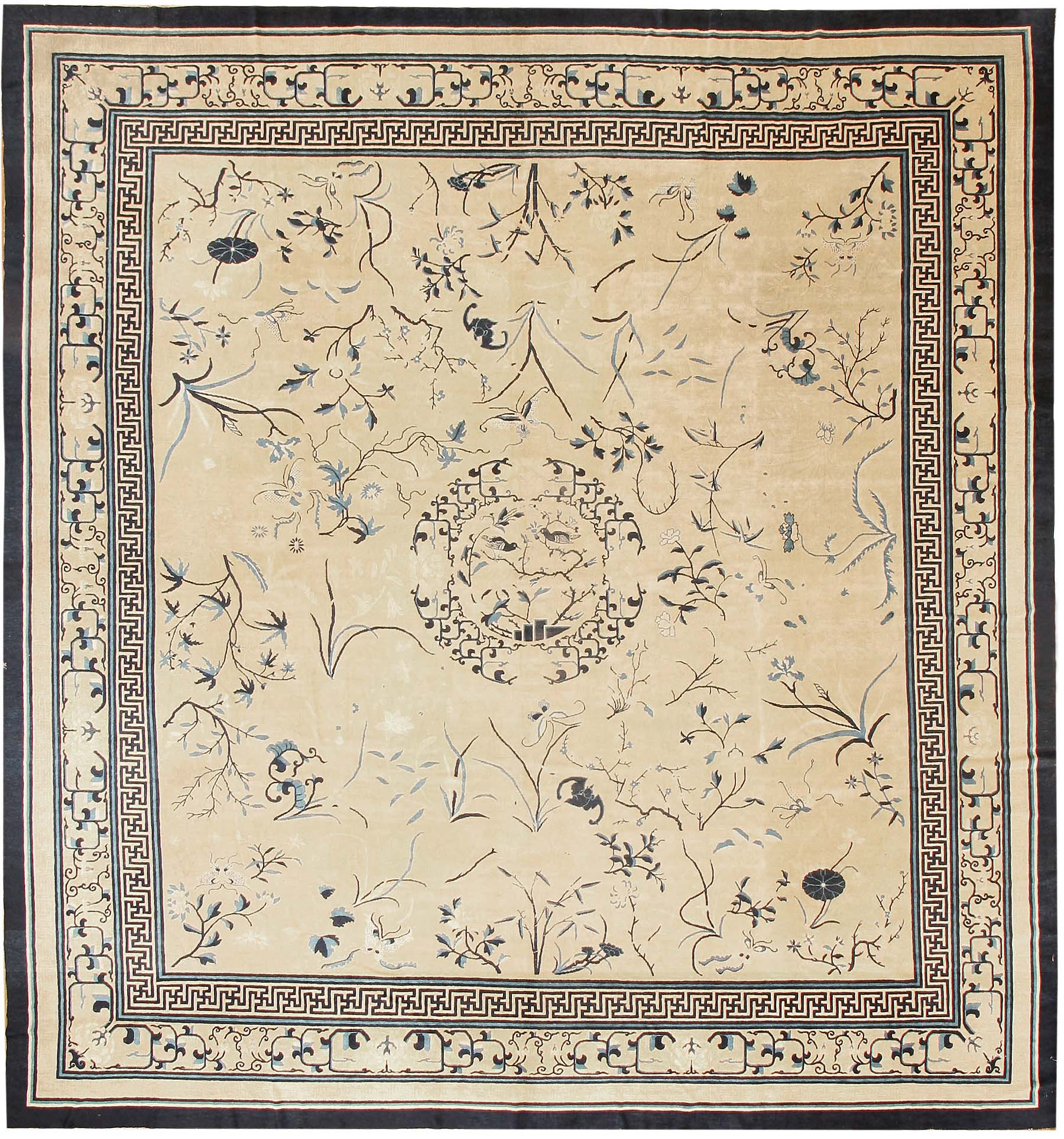 Chinese Rug Dealers: Antique Chinese Oriental Rugs # 43321 For Sale