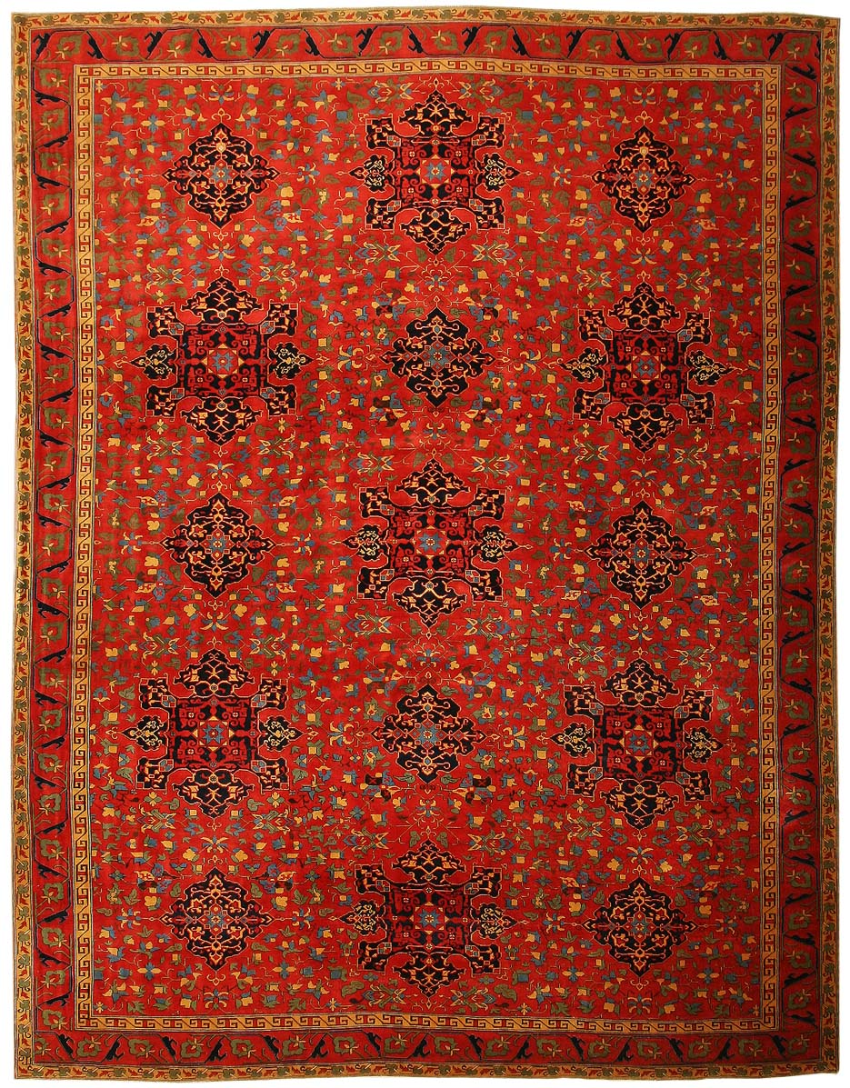Turkish oushak rug 44037 for sale antiquescom classifieds for Turkish rugs