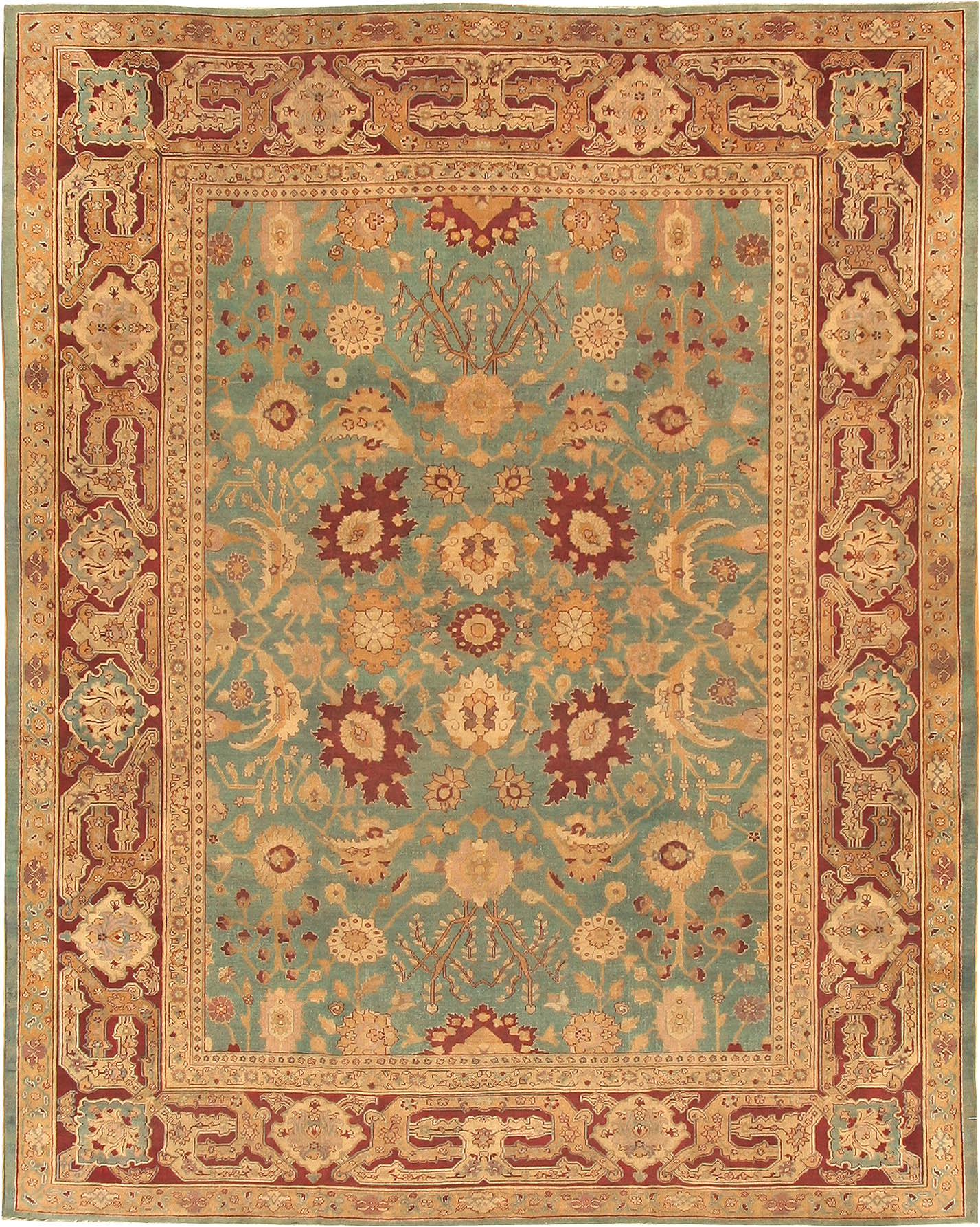 Antique Agra Oriental Rug 41461 For Sale Antiques Com