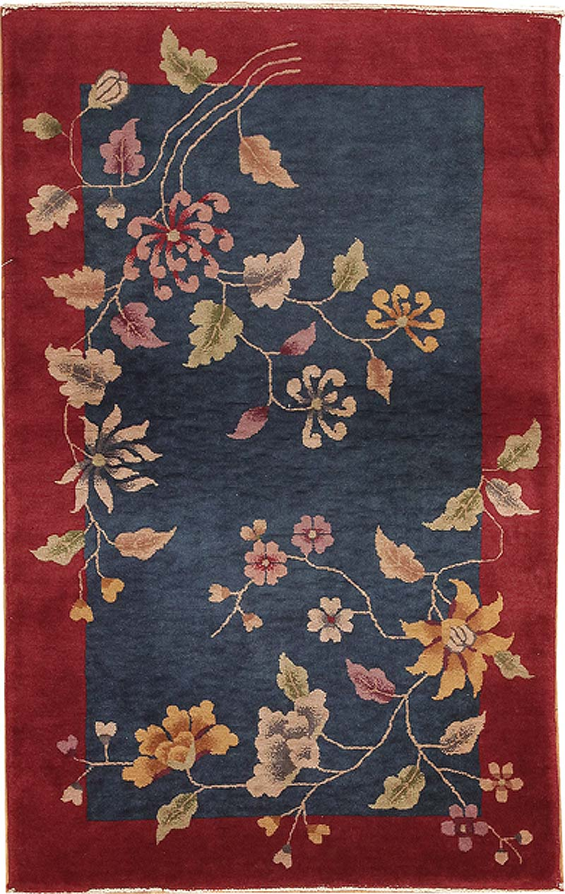 Antique art deco chinese rug 7595 for sale for Deco rugs carpet
