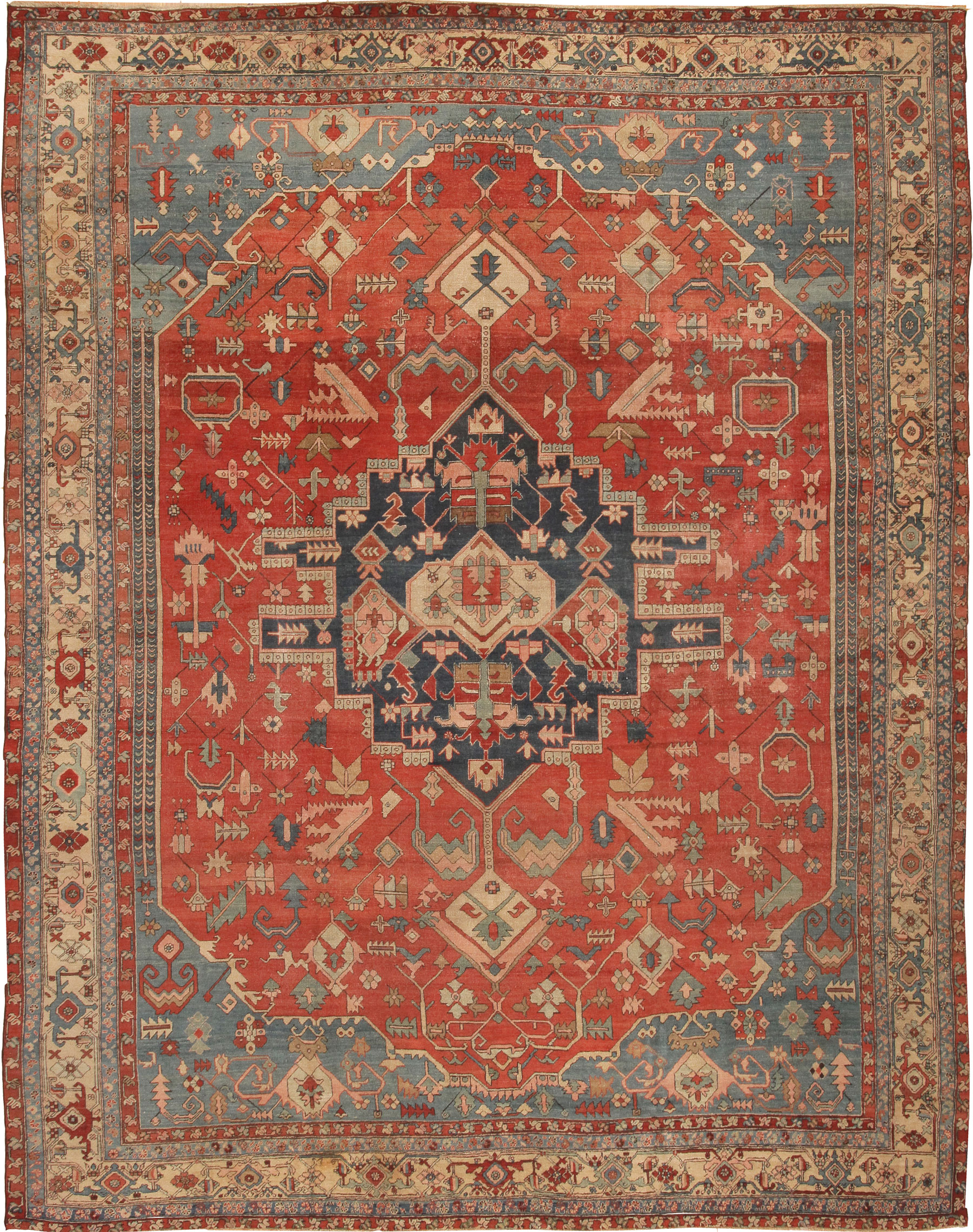 Antique Heriz Serapi Persian Rugs 43441 For Sale Antiques Com