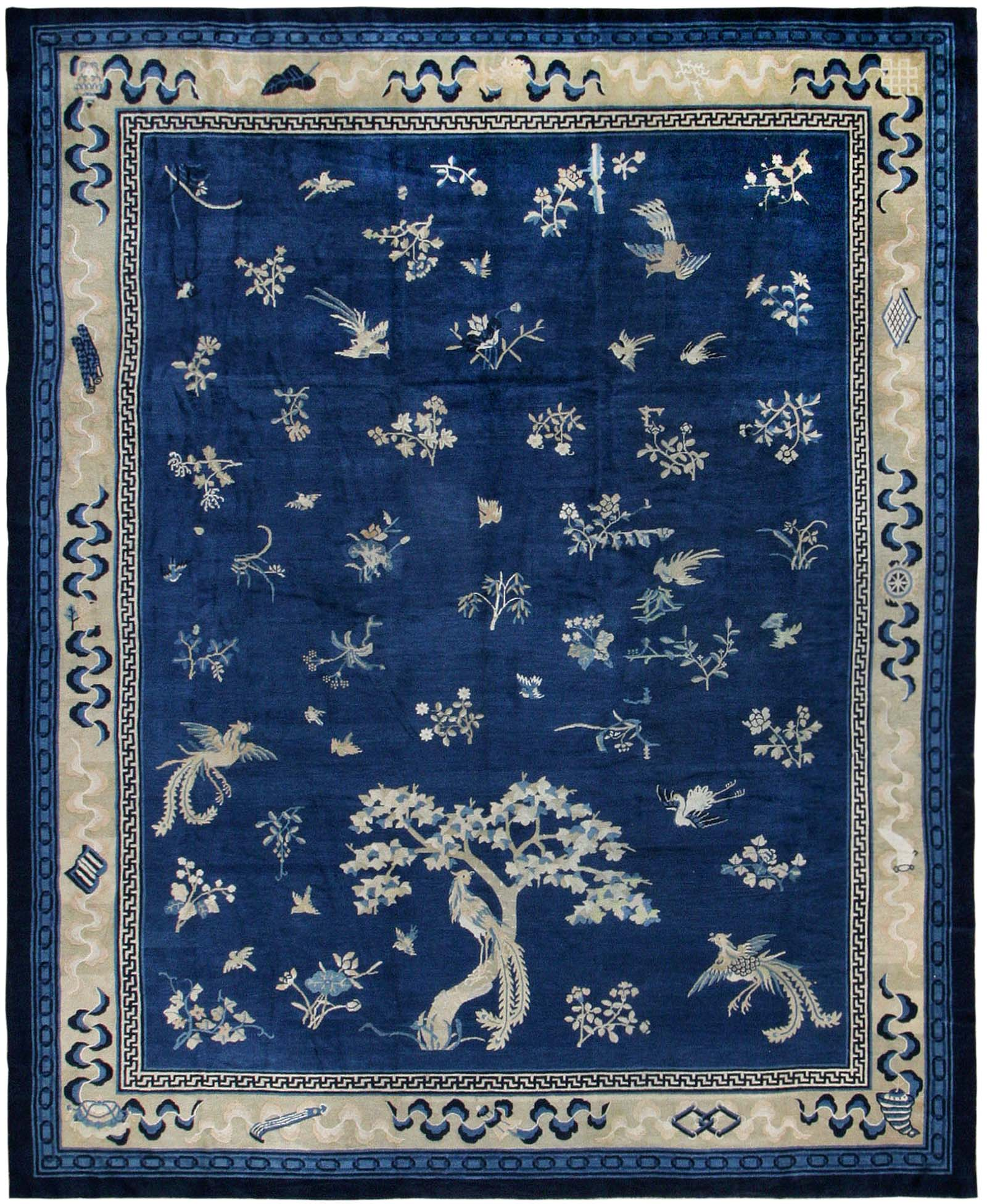 Antique Chinese Rug: Antique Chinese Oriental Rug 42750 For Sale