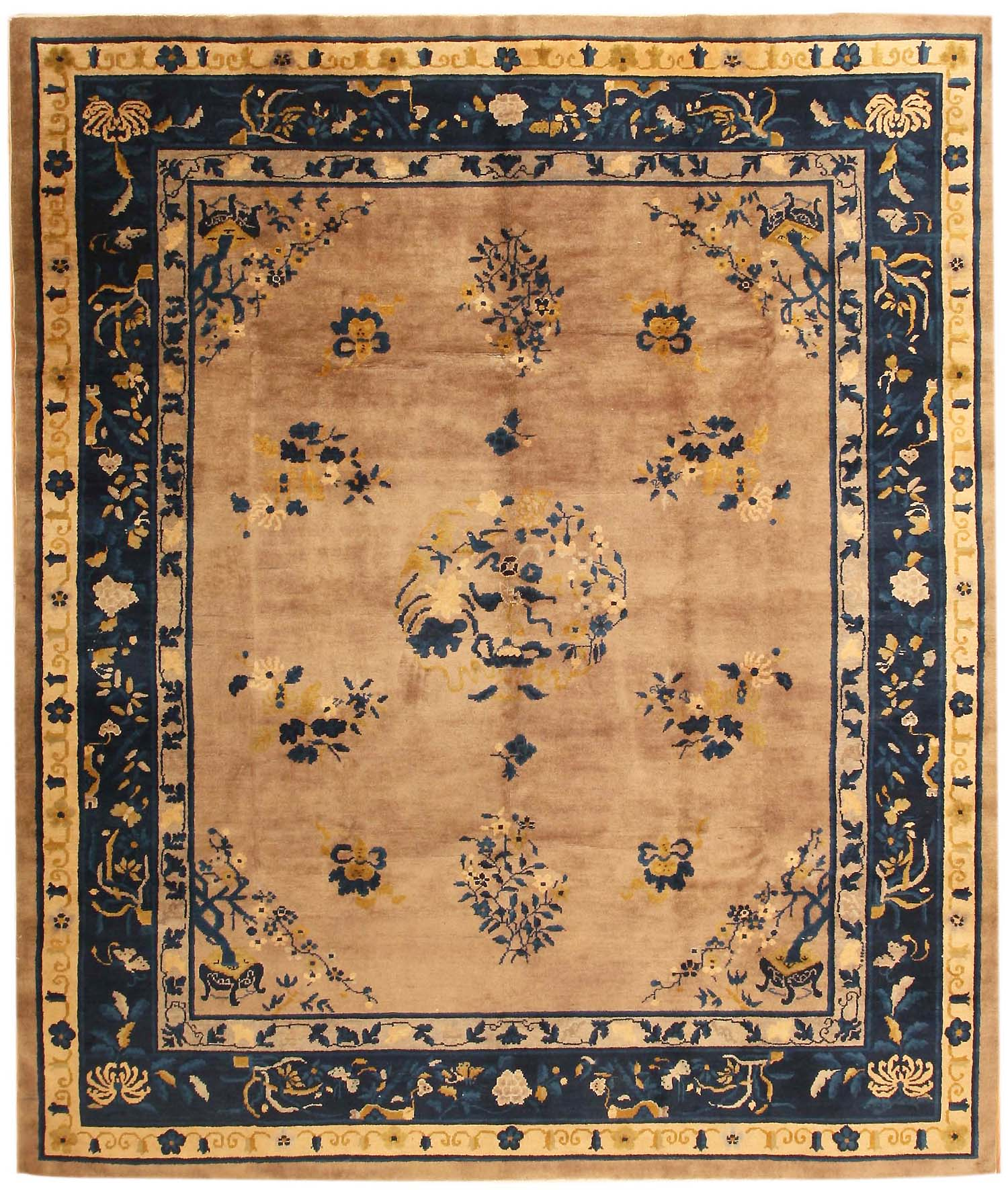 Chinese Rug Dealers: Antique Chinese Oriental Rugs 43732 For Sale