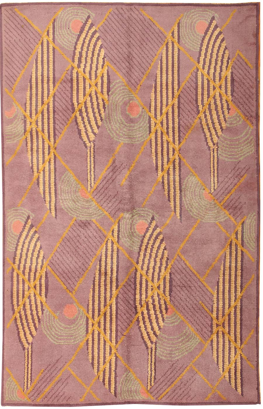 Art Deco Rug, Circa 1920u0027s This Stunningly Classic Art Deco Carpet Revels  In The Beauty Of Pure Geometry And Exquisite Color.