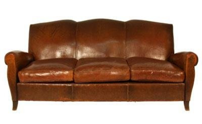 Vintage Leather Sofa H33403375 For Sale