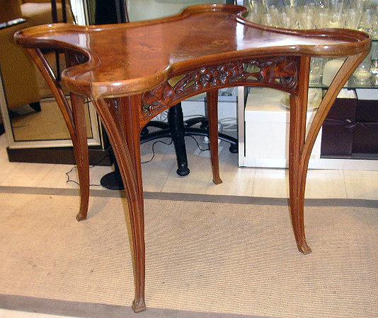 Brilliant Elegant Inlaid Art Nouveau Table For Sale Antiques Com Download Free Architecture Designs Photstoregrimeyleaguecom