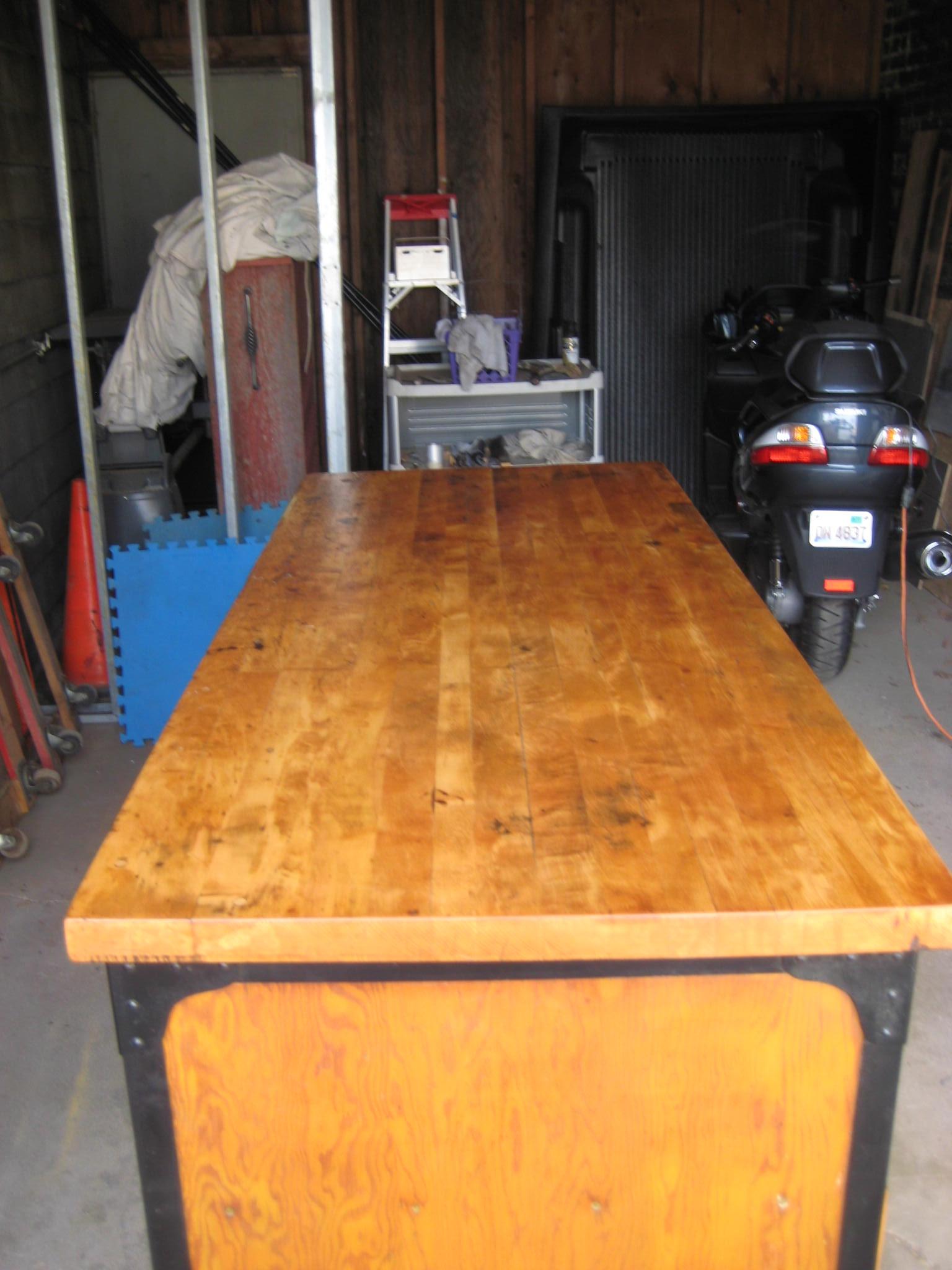 Enjoyable Vintage Industrial Work Bench For Sale Antiques Com Frankydiablos Diy Chair Ideas Frankydiabloscom