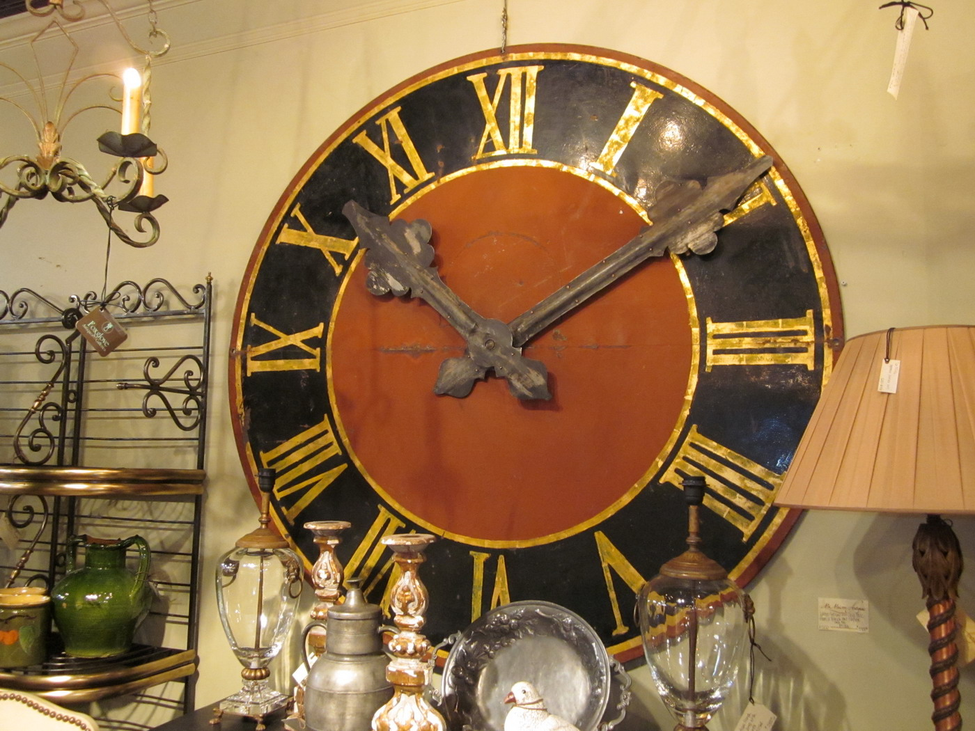 Large Antique Clock Face Ref 2120 For Sale Antiques
