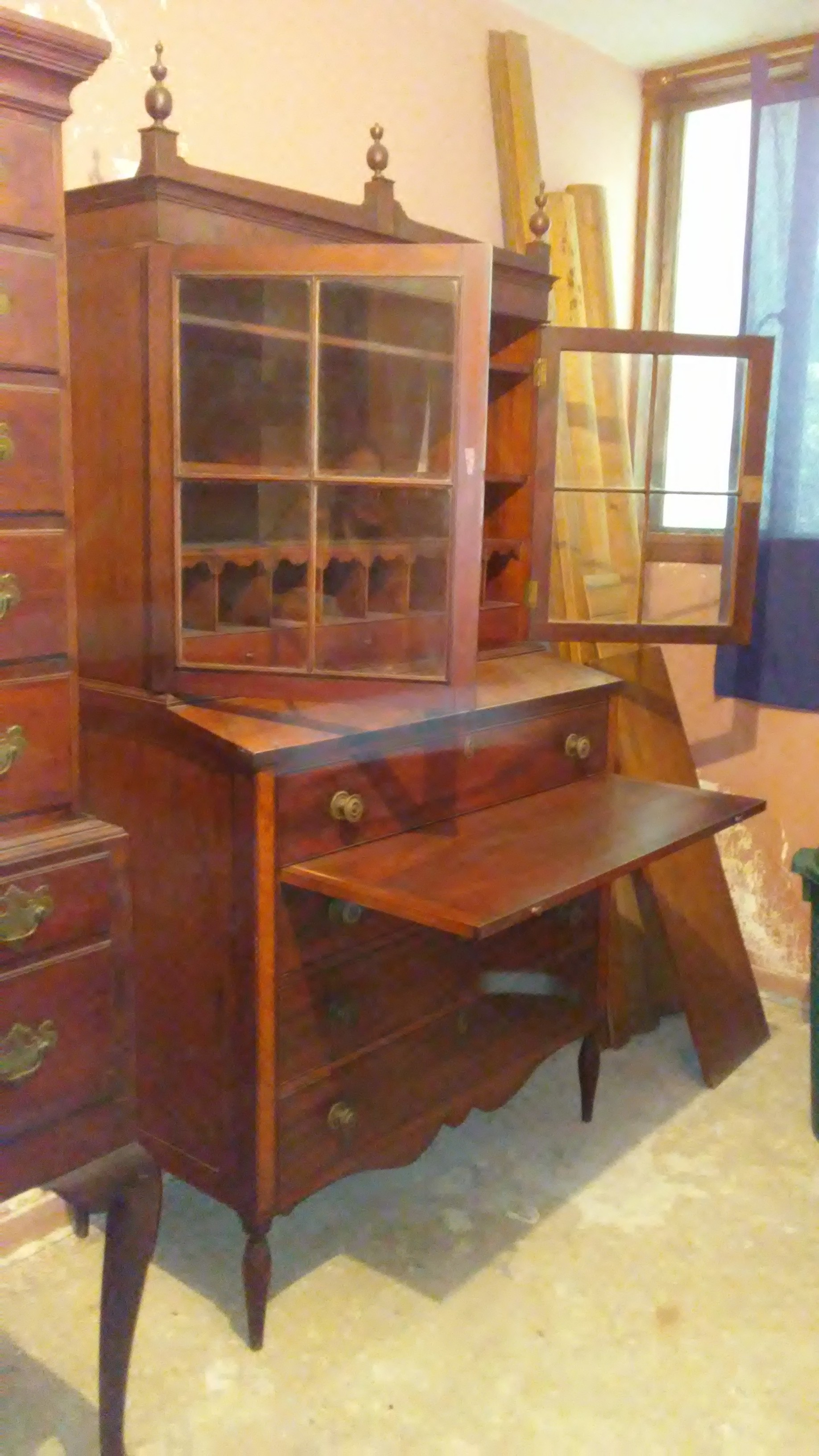 Federal Duncan Phyfe Secretary Circa Early 1800s For Sale Antiques