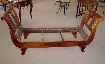 charles x period lit de repos for sale. Black Bedroom Furniture Sets. Home Design Ideas