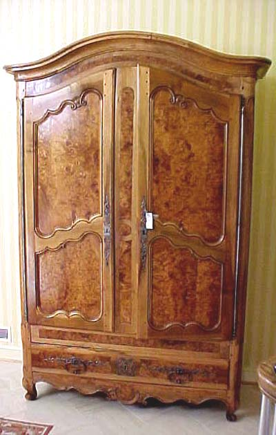 French Louis Xv Period Armoire For Sale Antiques Com