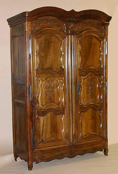 french louis xv period armoire for sale. Black Bedroom Furniture Sets. Home Design Ideas