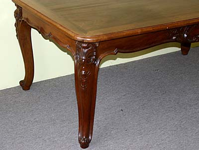 French, Louis XV Style, Extension Dining Table   For Sale
