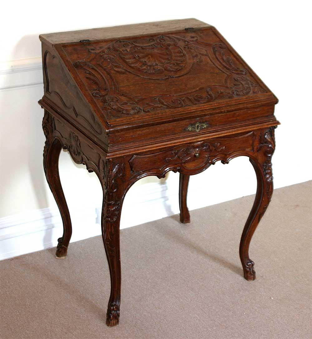French regence period bureau en pente for sale antiques for Bureau french